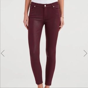 7 for all mankind Bordeaux skinny jean